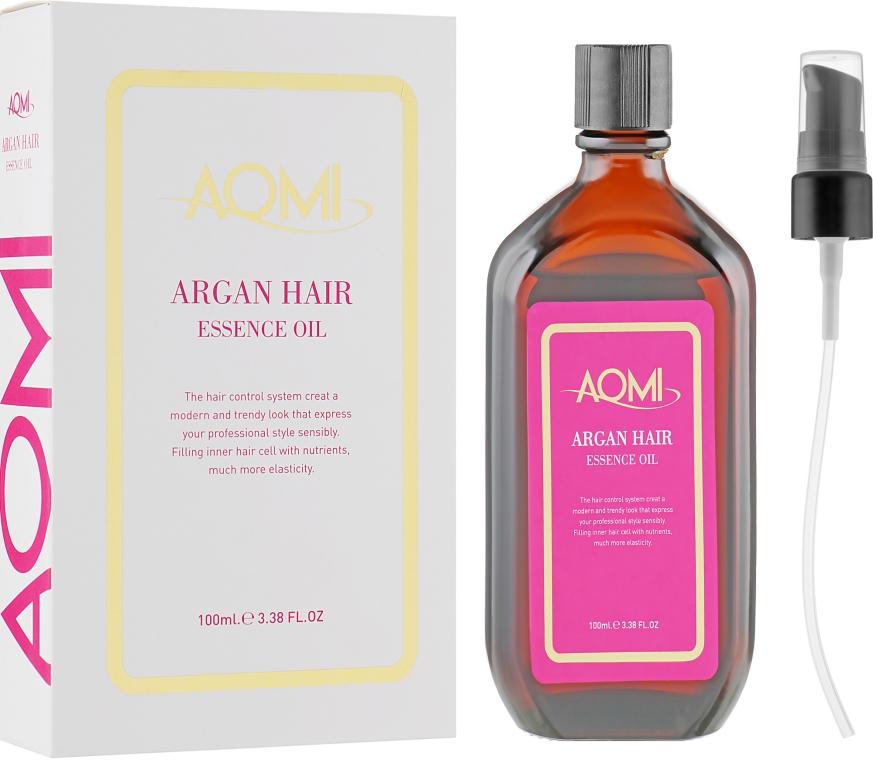 Эссенция для волос с маслом арганы - Aomi Argan Hair Essence Oil