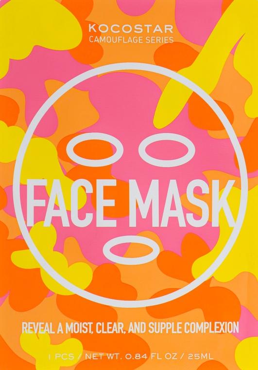 Маска для лица с лифтинг эффектом - Kocostar Camouflage Face Mask