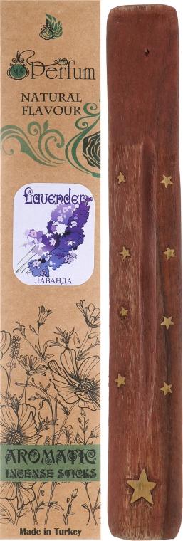 "Аромапалочки с деревянной подставкой ""Лаванда"" - MSPerfum"