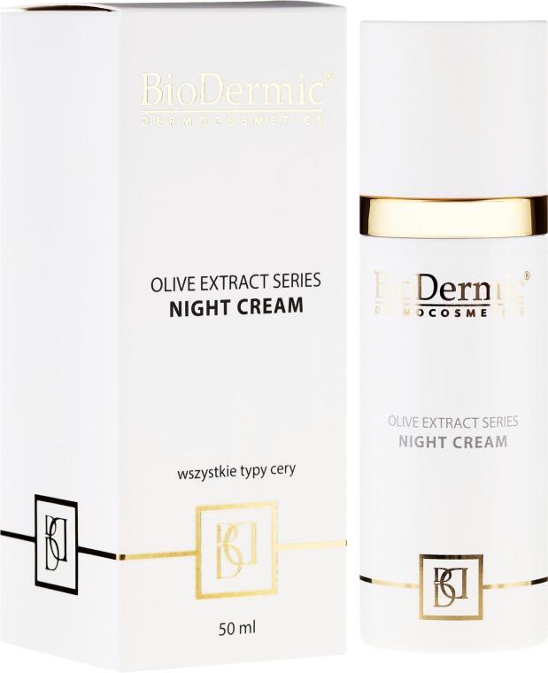 Крем для лица ночной - BioDermic Olive Extract Night Cream — фото N1