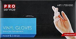 Духи, Парфюмерия, косметика Перчатки виниловые, размер L - PRO service Professional