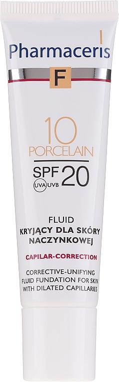 Корректирующий флюид для лица - Pharmaceris F Capilar-Correction Fluid SPF20