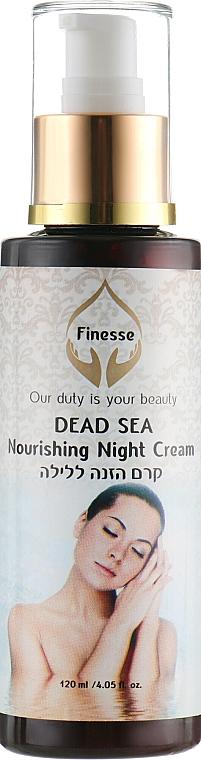 Питаетльный ночной крем для лица - Finesse Dead Sea Nourishing Night Cream