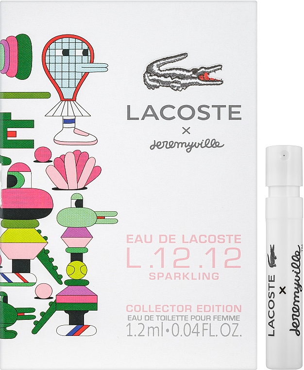 Lacoste Eau De Lacoste L.12.12 Sparkling Collector Edition x Jeremyville - Туалетная вода (пробник)