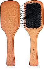 Духи, Парфюмерия, косметика Расческа для волос - Missha Wooden Cushion Medium Hair Brush