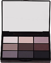 Духи, Парфюмерия, косметика Промонабор теней для глаз - Gosh Copenhagen 9 Shades Eye Palette
