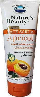 Увлажняющий скраб для лица с экстрактом абрикосовых косточек - Nature's Bounty Venos Face Scrub Apricot