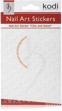 Духи, Парфюмерия, косметика Наклейки для дизайна ногтей - Kodi Professional Nail Art Stickers SP009