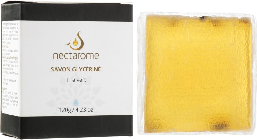 Мыло глицериновое с зелёным чаем - Nectarome Soap With Green Tea