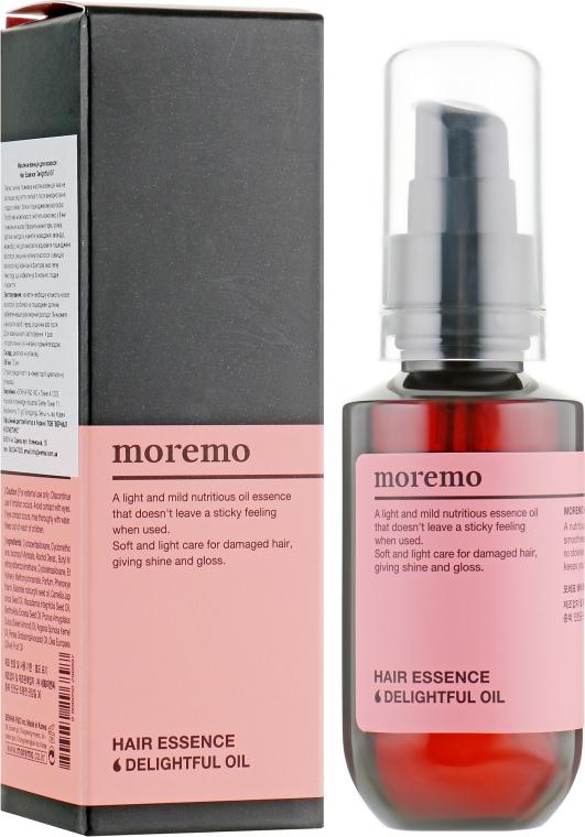 Масляная эссенция для волос - Moremo Hair Essence Delightful Oil