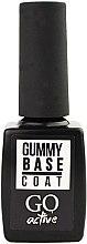 Духи, Парфюмерия, косметика Каучуковая основа для гель-лака - Go Active Gummy Base Coat