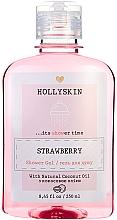Духи, Парфюмерия, косметика Натуральный гель для душа с ароматом клубники - Hollyskin Strawberry