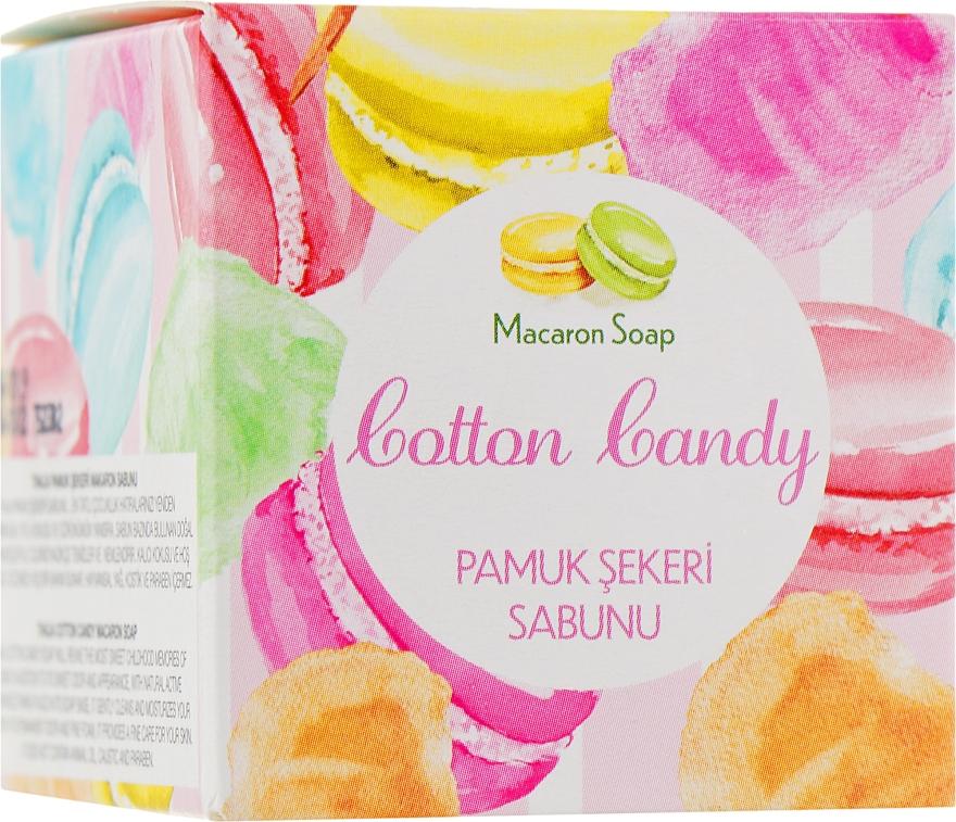 "Мило-макарон ""Сахарная вата"" - Thalia Cotton Candy Macaron Soap"