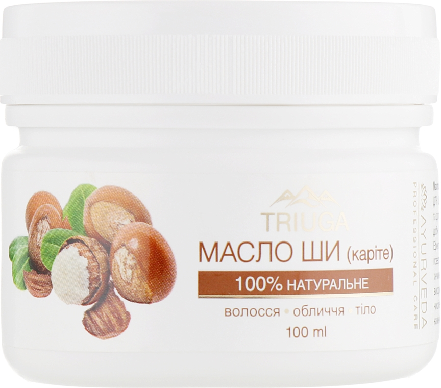 Масло ши для волос, лица и тела - Triuga Ayurveda Shea Butter For Hair And Body