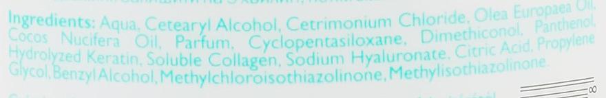 Маска для волос с кератином, коллагеном и гиалуроновой кислотой - Kallos Cosmetics Pro-Tox Hair Mask — фото N7