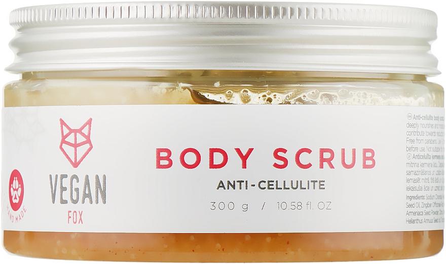 Скраб для тела антицеллюлитный - Vegan Fox Anti-Cellulite Body Scrub