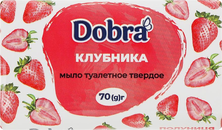 """Туалетное мыло """"Клубника"""" - Мыловаренные традиции Bovary Dobra"""