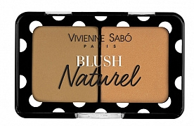 Румяна двойные - Vivienne Sabo Blush Naturel