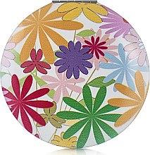 """Духи, Парфюмерия, косметика Зеркало косметическое круглое """"Цветы"""", разноцветные - Элита"""