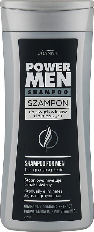 Шампунь для мужчин для седых волос - Joanna Power Graying Hair Shampoo For Men