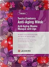 Духи, Парфюмерия, косметика Антивозрастная маска для лица - Leaders 7 Wonders Tundra Cranberry Anti-Aging Mask