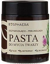 Духи, Парфюмерия, косметика Очищающий пилинг-паста для лица с зеленой водорослью - Bosphaera