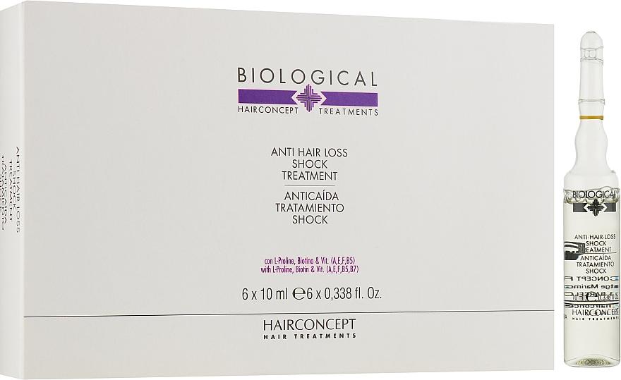 Интенсивная терапия против выпадения волос - HairConcept Biological Anti-Hair Loss Shock Treatment