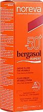 Духи, Парфюмерия, косметика Солнцезащитный флюид - Noreva Laboratoires Bergasol Expert IFluid Cream Invisible Finish SPF50+