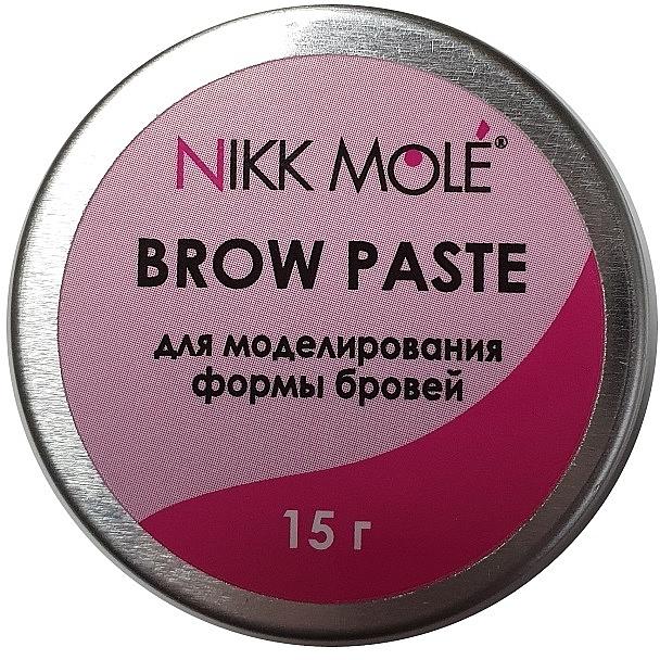 Паста для моделирования формы бровей - Nikk Mole Brow Paste