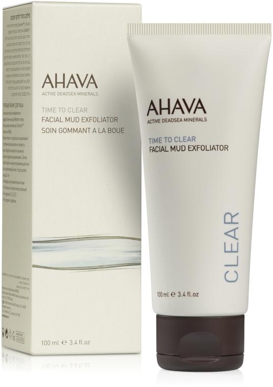 Грязевой пилинг для лица - Ahava Time To Clear Facial Mud Exfoliator