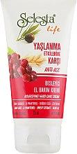 Духи, Парфюмерия, косметика Крем для рук с оливковым маслом - Selesta Life Hand Care Cream Anti-Age