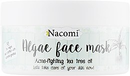 "Парфумерія, косметика Альгінатна маска для обличчя ""Зелений чай"" - Nacomi Professional Face Mask"