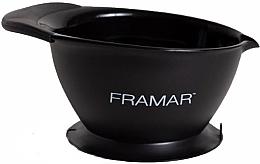 Духи, Парфюмерия, косметика Миска для окрашивания с основанием-присоской, черная - Framar SureGrip Suction Bowl Black