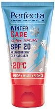 Духи, Парфюмерия, косметика Зимний защитный крем - Perfecta Winter Care Active Sport SPF20