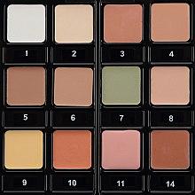 Парфумерія, косметика Жирні коректори у палітрі, 12 кольорів - Cinecitta Phito Make Up Corrector Palette