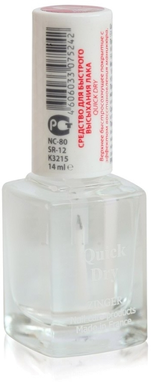 Средство для быстрого высыхания лака - Zinger Quick Dry NC80 (SR12)