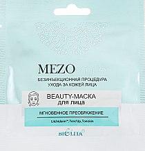 "Духи, Парфюмерия, косметика Маска для лица ""Мгновенное преображение"" - Bielita MEZO complex Beauty Mask"
