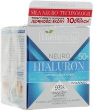 Крем-лифтинг, концентрат против морщин 50+ - Bielenda Neuro Hialuron — фото N1