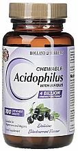 "Духи, Парфюмерия, косметика Жевательные таблетки ""Ацидофилус"" - Holland & Barrett Chewable Acidophilus with Bifidus"