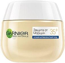 Ночной крем для лица - Garnier Skin Naturals Защита от морщин 35 + — фото N2