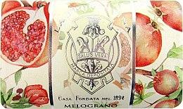 "Духи, Парфюмерия, косметика Твердое мыло ""Гранат"" - La Florentina Pomegranate Bath Soap"