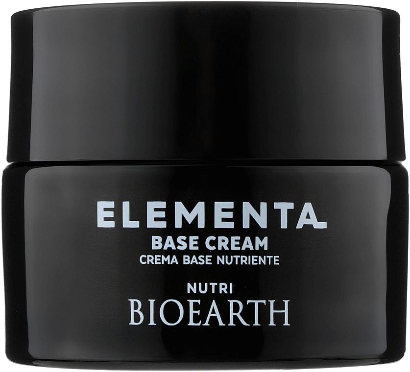 Питательный крем для лица на основе масла ши - Bioearth Elementa Base Cream Nutri