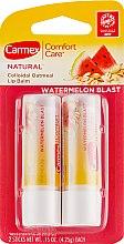 Духи, Парфюмерия, косметика Набор - Carmex Comfort Care Natural Watermelon Blast (lip/balm/2x4,5g)