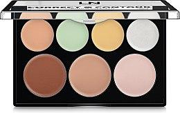 Духи, Парфюмерия, косметика Палетка консилеров для макияжа - LN Professional Correct & Contour Cream Kit