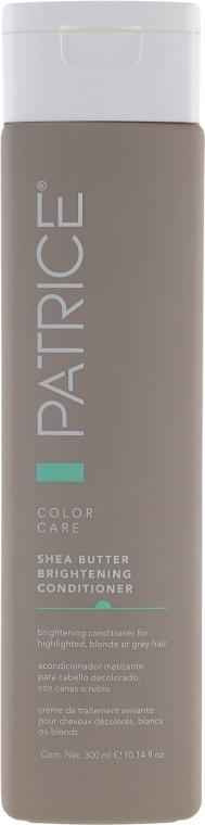Тонирующий кондиционер для обесцвеченных и осветленных волос - Patrice Beaute Color Care Brightening Conditioner