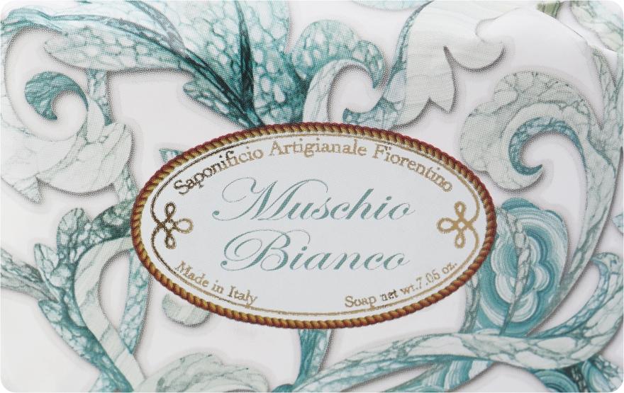 """Мыло туалетное """"Белый мускус"""" - Saponificio Artigianale Fiorentino White Musk"""