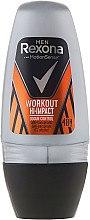 Дезодорант-ролик - Rexona Men Motionsense Workout Hi-impact 48h Anti-perspirant — фото N1