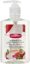 Духи, Парфюмерия, косметика Нежный гель для интимной гигиены - Clever Company Aquafruit Gel