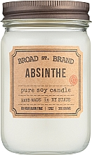 Духи, Парфюмерия, косметика Kobo Broad St. Brand Absinthe - Ароматическая свеча