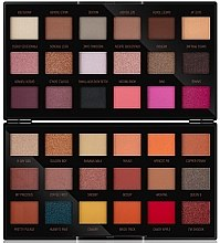 Палетка теней для век - Makeup Revolution X Petra 36 Shade Eyeshadow Palette — фото N1